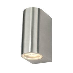 bathroom lighting screwfix screwfix led steel outdoor wall light home pinterest