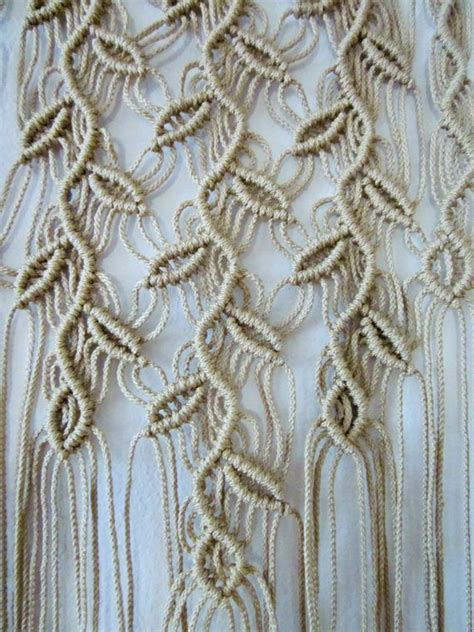 Macrame Stitches - the of macram 233 and how it can be used around the home