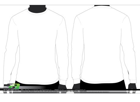 sleeve t shirt template templates styled aesthetic