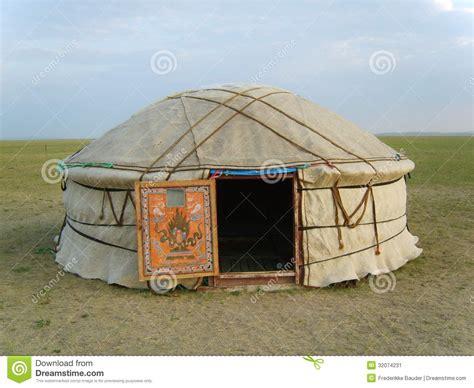tende mongole tienda mongol imagen de archivo imagen de asia