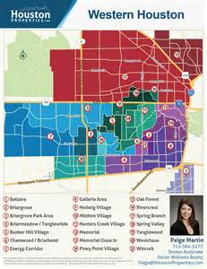 Of Houston Houston Neighborhoods Houston Map Real Estate Homes