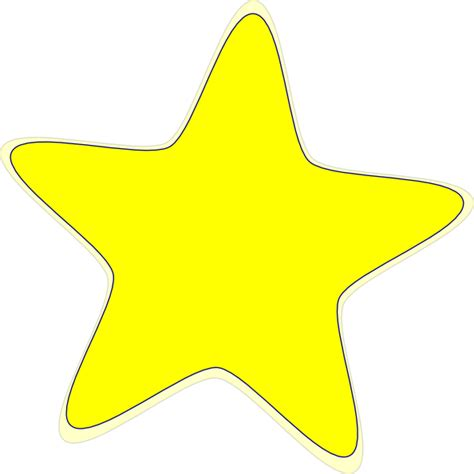 printable yellow stars to cut out star stencil printable clipart best