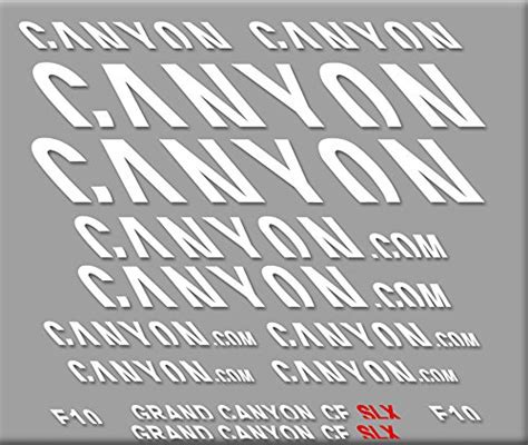 Canyon Mtb Aufkleber by Pegatinas Gran Canyon Slx R292 Stickers Aufkleber Decals