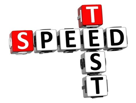 adsl speed test gratis