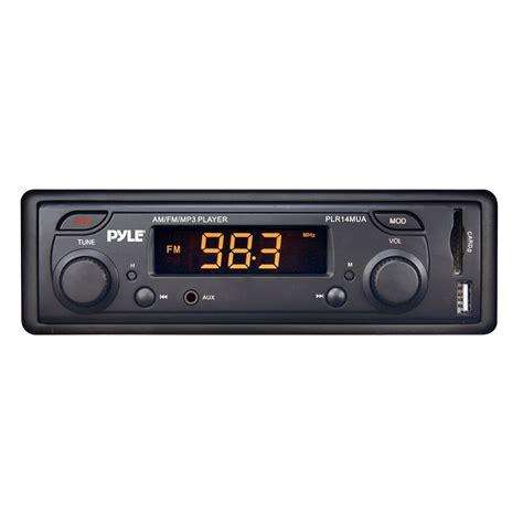 Car Stereo Knobs by Pyle Car Stereo Plr14mua Am Fm Mpx Mp3 In Dash Dual