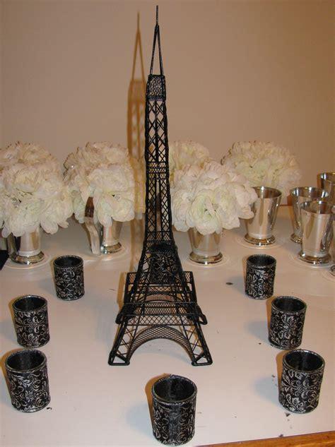 Paris Eiffel Tower Centerpieces Project Wedding Eiffel Tower Centerpieces
