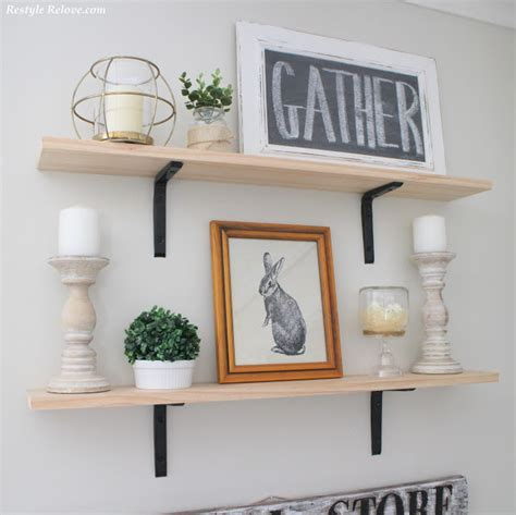 farmhouse shelves diy farmhouse shelves for 20
