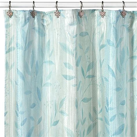 wamsutta shower curtain combed vines shower curtain by wamsutta bed bath beyond