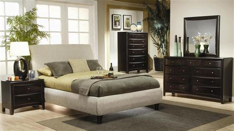 bedroom sets phoenix phoenix fabric platform bedroom set 300369 from coaster