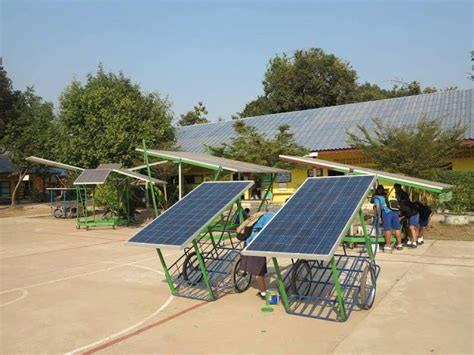School Built By Thai Quot Solar Monk Quot Is Lighting Souls And Solar Lights Thailand
