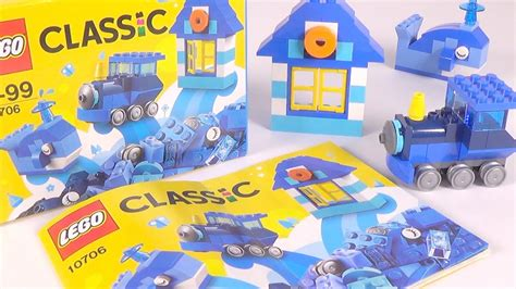 Toys Lego Classic Blue Creative Box 10706 lego classic blue creativity box 10706 unboxing and speed build