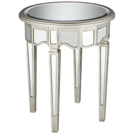 small mirrored accent table pinterest