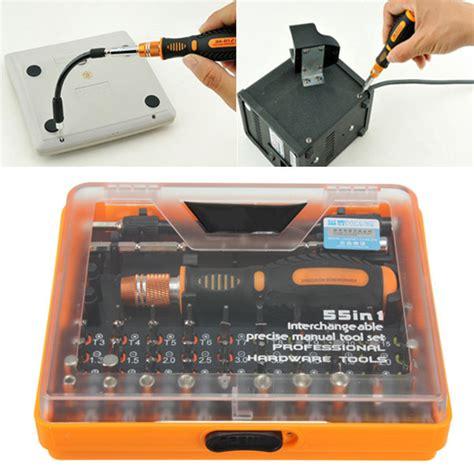 Jakemy 53 In 1 Precision Screwdriver Repair Tool Kit Jm 8127 jakemy 53 in 1 multi bit precision torx screwdriver tweezer phone repair tool sale banggood
