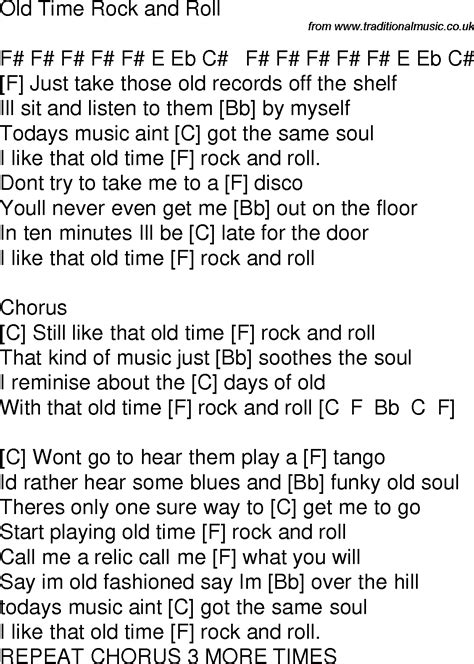 testo i rock and roll time song lyrics with guitar chords for time rock