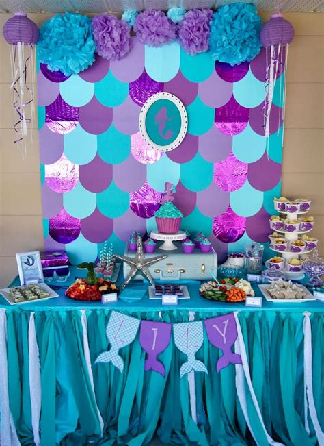 Ariel Table Decorations by Best 20 Ariel Food Ideas On Mermaid Food Nemo Food And