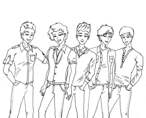 1d band free coloring pages