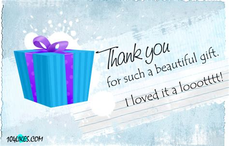 thank you for gift thank you for the gift quotes 104likes
