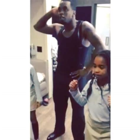 Diddy Getting Dances by Diddy Dances With His Daughters Rap Up Rap Up