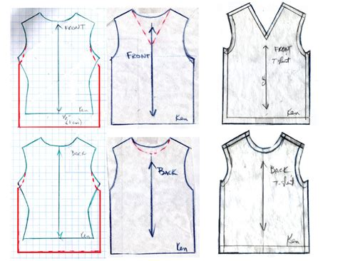 pattern for ken clothes fashion doll stylist summer t s
