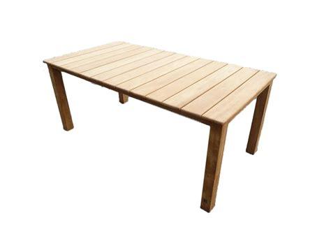 teak tafel dikke poten tuintafel general teak woodexpert woodexpert