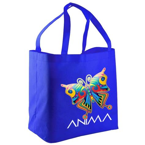 Promo Bag color promotional bags plastic non woven tote and