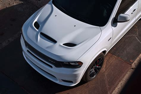 2018 Dodge Durango SRT hood scoop   Motor Trend