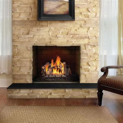 Log Sets For Gas Fireplaces by Gl18nenapoleon Fireplaces 18 Quot Fiberglow Gas Log