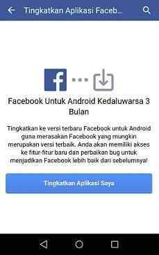 fb seluler perbarui facebook cara update aplikasi fb seluler ke