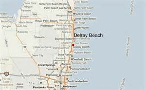 where is delray florida on the map guide urbain de delray
