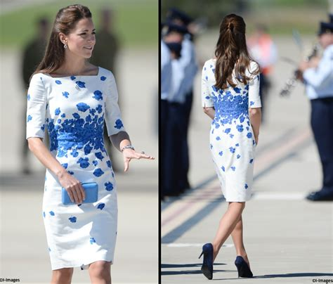 Kalung Fashion Plopy Blue it s lk blue in brisbane another aussie brand for the duchess what kate wore