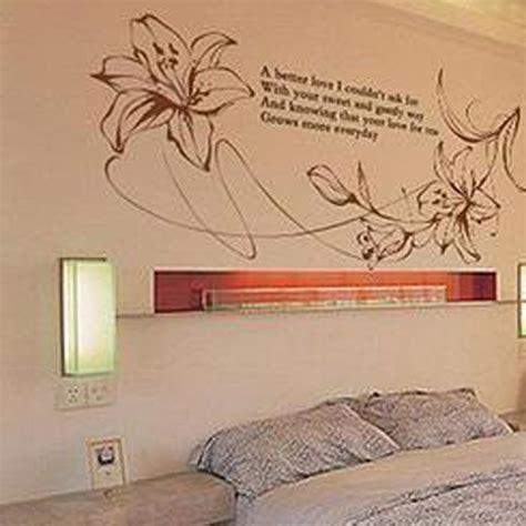 adesivi parete da letto adesivi da parete giglio sfondo 13 72 shopping