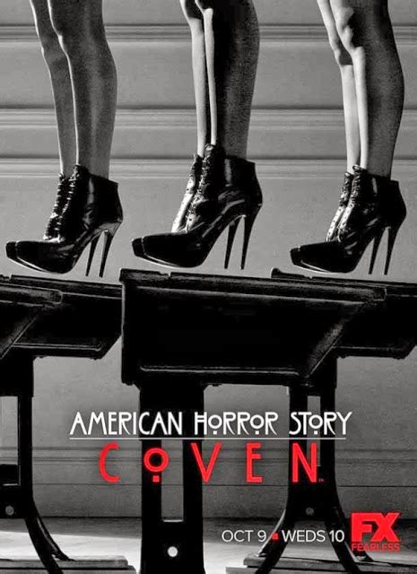 american horror story coven unleashes four new posters comingsoon net badboys deluxe the coven american horror story