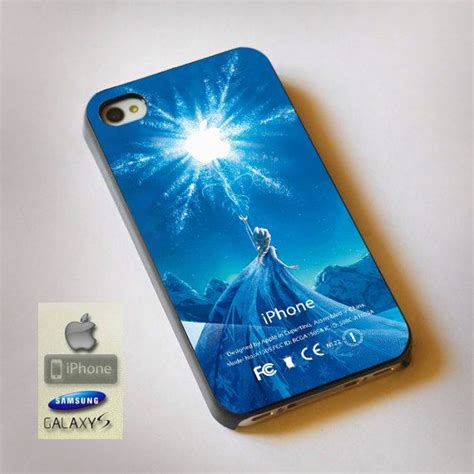 disney frozen elsa castle apple frozen logo print on plastic available for iphone and