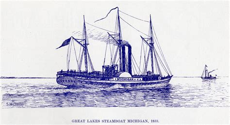 steamboats and sailors of the great lakes great lakes books series books great lakes steamboat michigan 1833 maritime history of