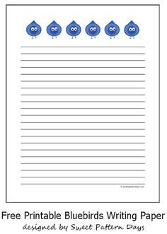 ant writing paper printable black ant writing paper templates