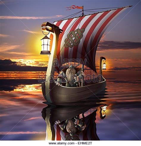viking warrior boats viking warrior drawing stock photos viking warrior