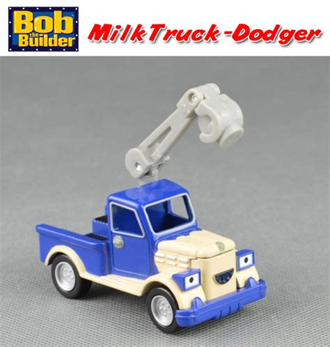 Diecast Truck Metal Builder free shipping brand new bob the builder milk truck dodger