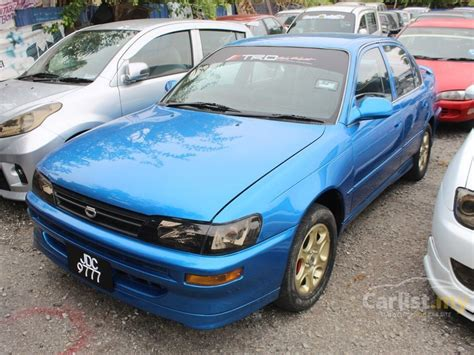 automobile air conditioning repair 1995 toyota corolla seat position control toyota corolla 1995 seg 1 6 in selangor automatic sedan blue for rm 11 900 3838078 carlist my