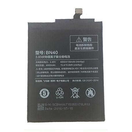 Baterai Xiaomi Redmi 4 Pro Prime Bn 40 Original xiaomi redmi 4 pro repuestos