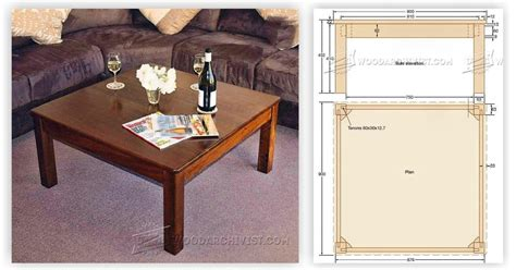 square coffee table plans square coffee table plans woodarchivist