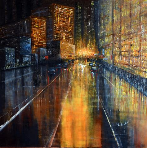 New York Abstract Painting New York Painting Original