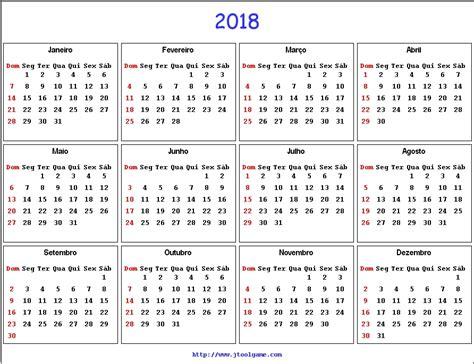 2018 Calendar With Holidays Listed 2018 Calendar Printable Calendar 2018 Calendar In