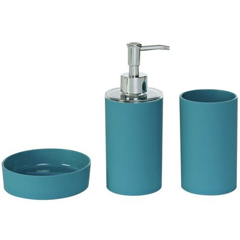 online shopping for bathroom fittings buy colourmatch accessory set teal at argos co uk your