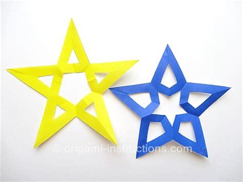 Origami Pentagram - origami pentagram 28 images the world s best photos of