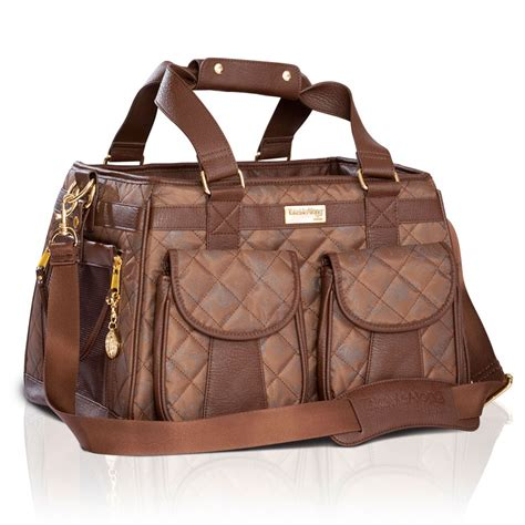 puppy carriers mon ami quilted carrier brown