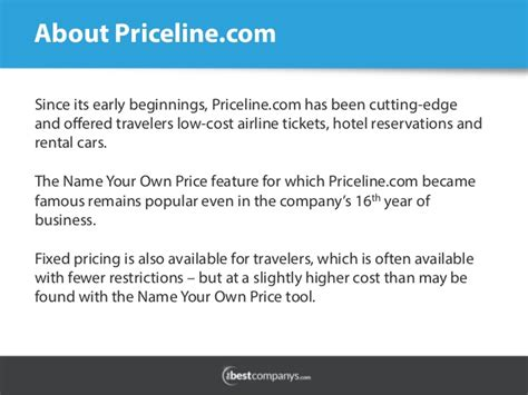 priceline review hotel booking