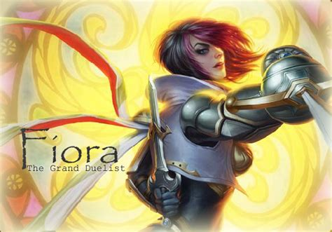 fiora item league of legends fiora the grand duelist items skills