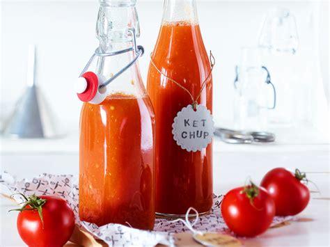 ketchup selber machen  gehts lecker
