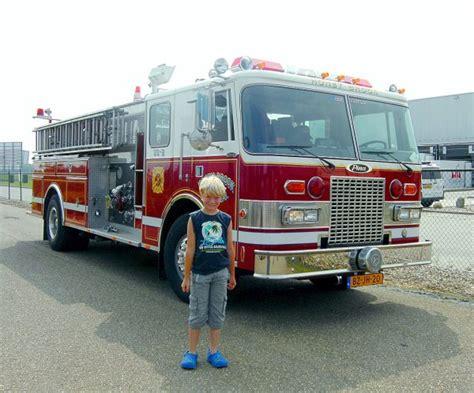 Topi Trucker Truck Bran New York brandweer truck en ik thijs de trucker