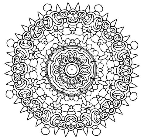 intricate floral coloring pages intricate mandala coloring pages grig3 org